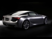2007 Lexus LF A Sports Car Concept Rear And Side